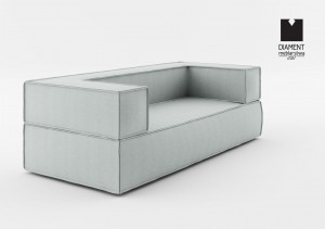 Absynth Noi Sofa 200