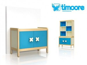 Timoore Simple Kredens 2-drzwiowy - linia Design