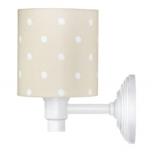 Lamps & Company Lovely Dots Beige Kinkiet