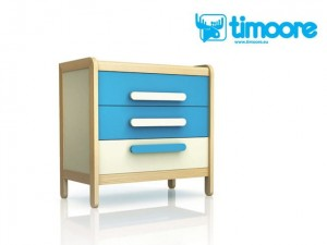 Timoore Simple Komoda 3-szufladowa - linia Design