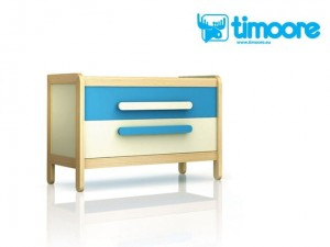 Timoore Simple Komoda 2-szufladowa - linia Design