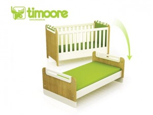 "Timoore First Łóżeczko-tapczanik  ""First"" 140x70 - linia Design"