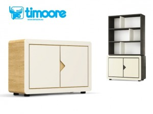 Timoore Frame Kredens 2-drzwiowy - linia Design