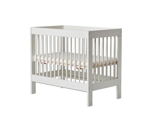 Pinio Basic łóżeczko Dostawka 90x50 Materac Płoza Kółka